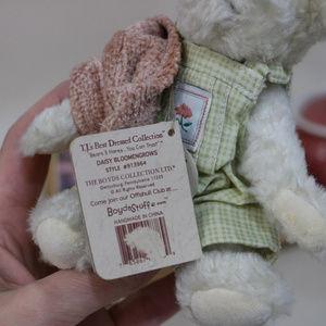 Boyds Bears Accents - Daisy Bloomengrows - Mini Small Plush Boyds Bear